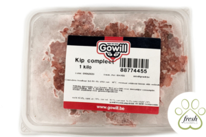 Gowill+ Kip compleet 1kg